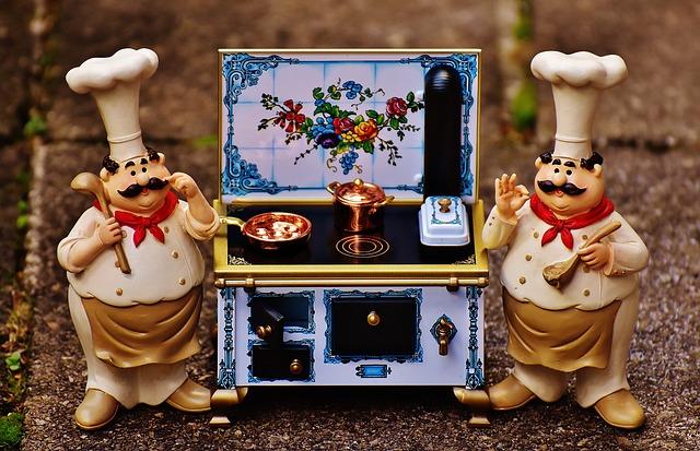 malá kuchynka, kuchaříci