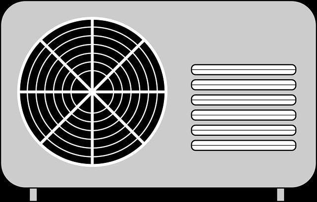 klimatizace, nákres