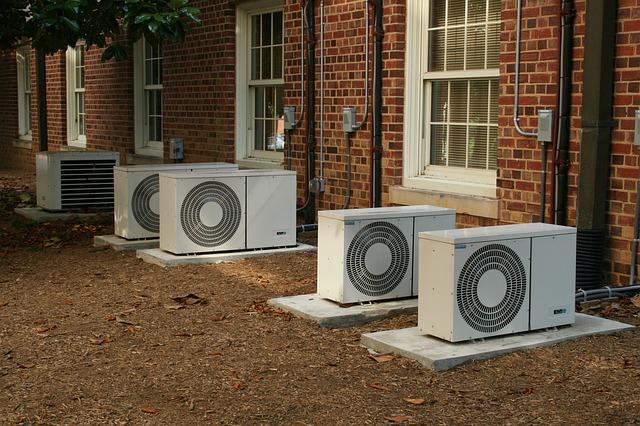 klimatizace na zemi, dům