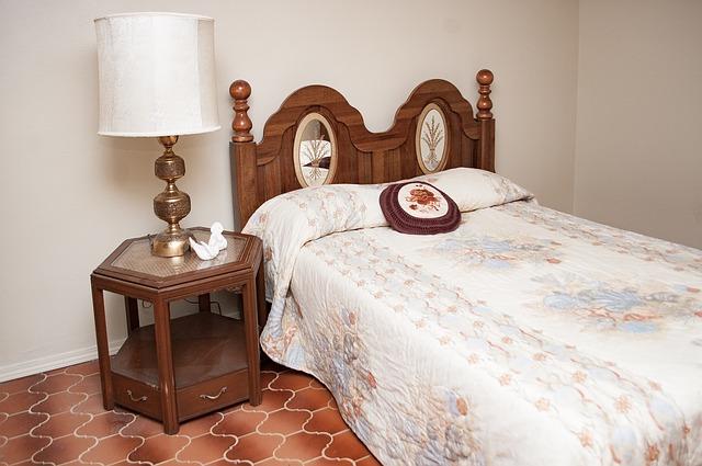staromódní ložnice