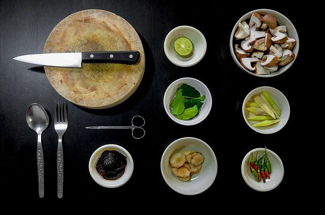 připravené potraviny