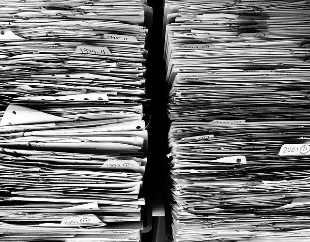 kancelářské papírování