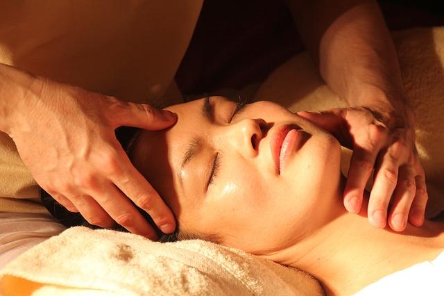 masáž obličeje