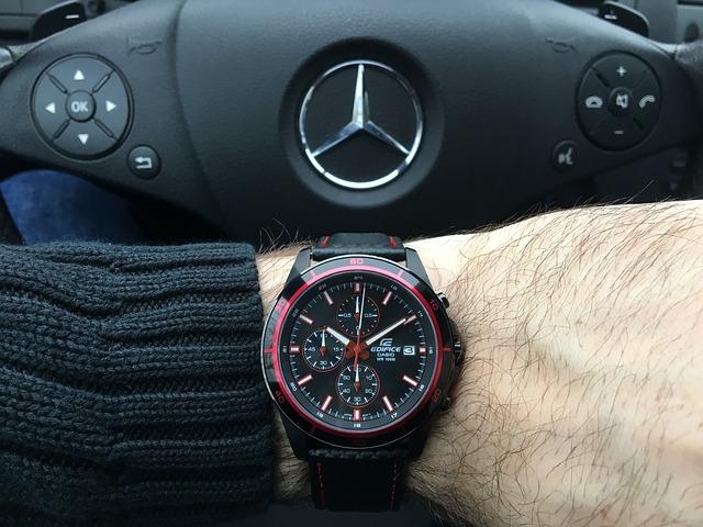 hodinky řidiče