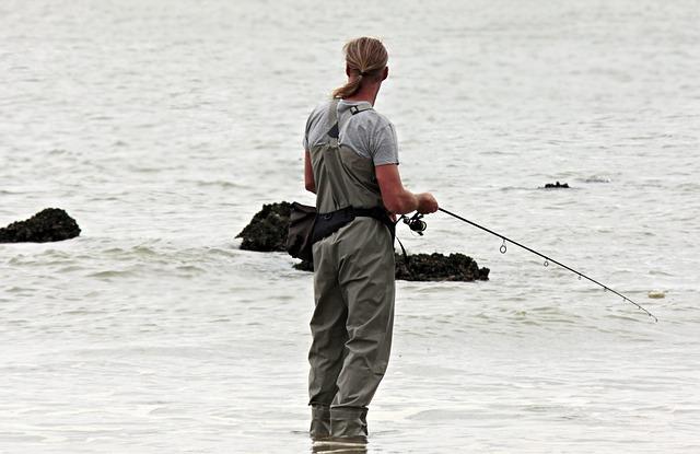 vybavený rybář