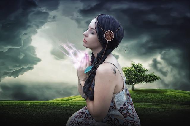 spirituální žena