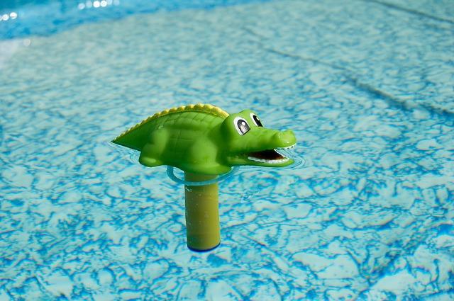 zelená hračička