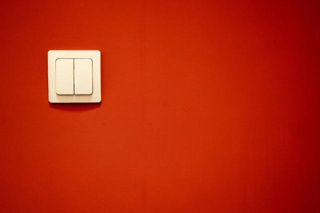Moderní vypínač