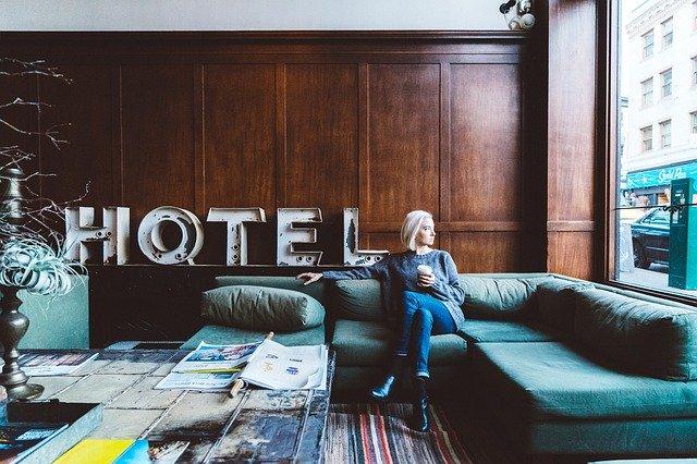 místnost v hotelu