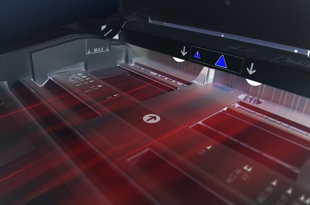 skenování na kancelářské tiskárně