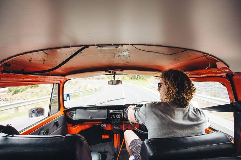 řidič dodávky