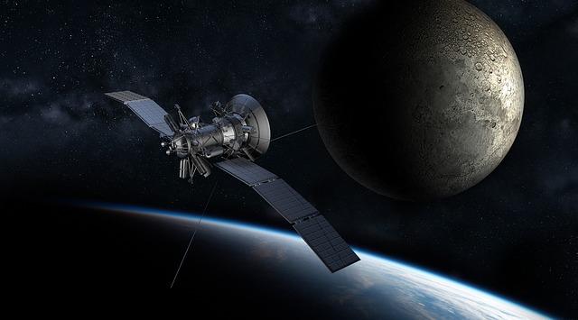 vesmírný satelit