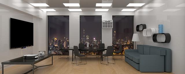 moderní zasedací místnost