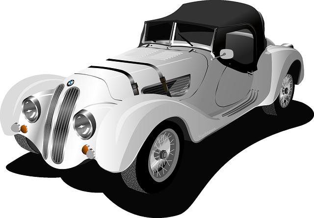 starší typ automobilu