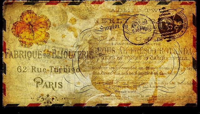 starý typ obálky